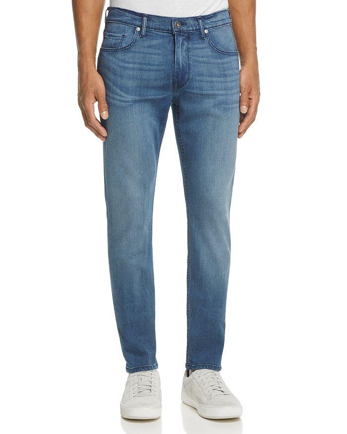 PAIGE - Transcend Federal Slim Fit Jeans in Skylar