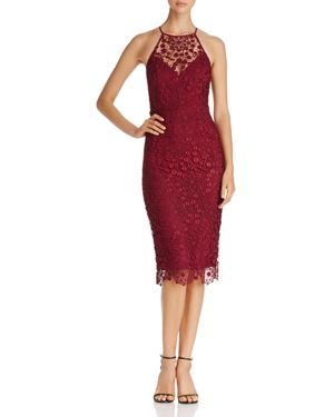 Yumi Kim She's Mine Lace Halter Dress