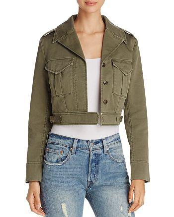 Fillmore - Eisenhower Cropped Jacket