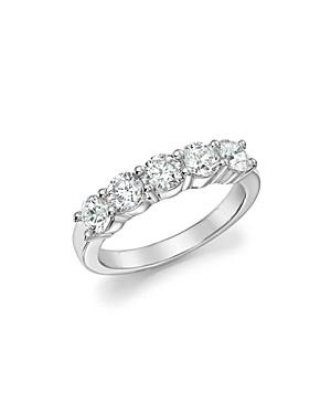 Bloomingdale's Certified Diamond Band Ring in 18K White Gold, 1.50 ct. t.w. - 100% Exclusive