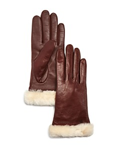 UGG® Australia Classic Leather Tech Gloves - Bloomingdale's_0