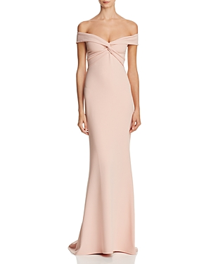 Nookie DOLLY OFF-THE-SHOULDER GOWN