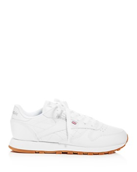 ... Reebok - Women s Classic Leather Lace Up Sneakers 33c0a690741f