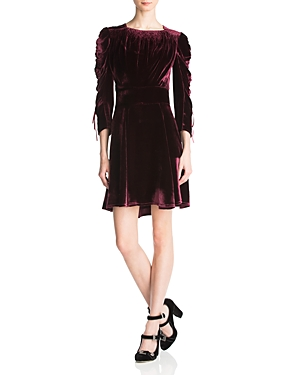 The Kooples Bliss Velvet Dress