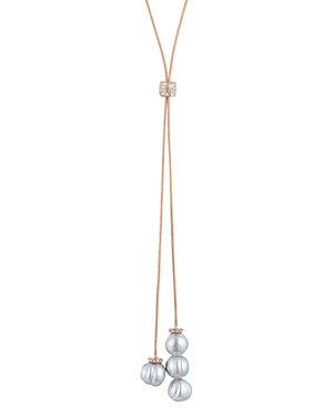 Lauren Ralph Lauren Adjustable Pearl Y Necklace, 36
