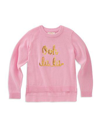 kate spade new york - Girls' Ooh La La Sweater - Little Kid