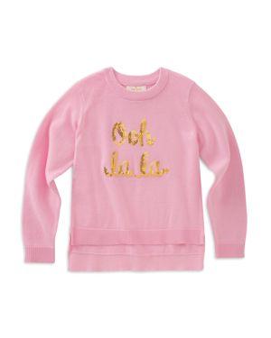 kate spade new york Girls' Ooh La La Sweater - Little Kid