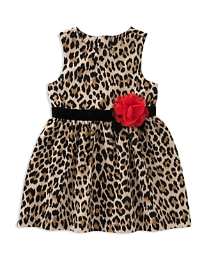 kate spade new york Girls' Leopard-Print Dress - Big Kid
