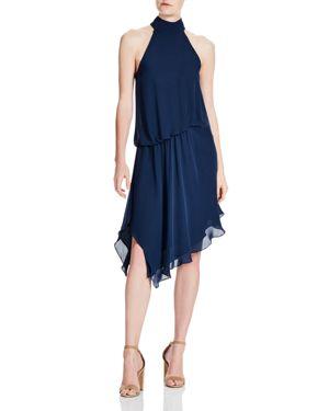 Haute Hippie Katherine Asymmetric Ruffled Silk Dress 2734292