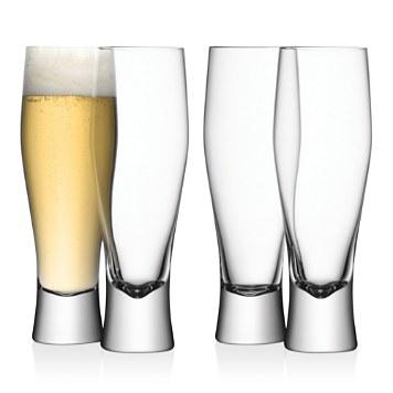 $LSA Bar Beer Glass, Set of 4 - Bloomingdale's