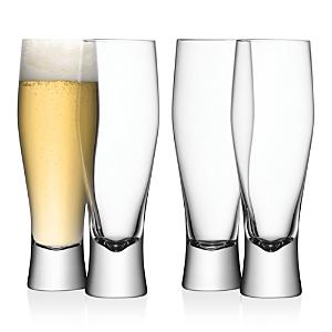 Lsa Bar Beer Glass, Set of 4