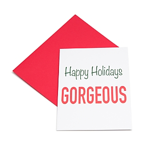Los Angeles Trading Company Happy Holidays Gorgeous Card