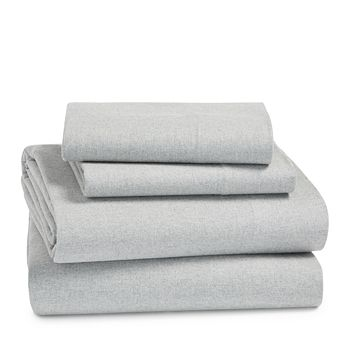 Coyuchi Cloud Brushed Organic Cotton Flannel Sheet Sets Bloomingdale S