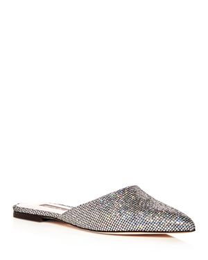 Sjp by Sarah Jessica Parker Women's Glitter Pointed Toe Mules