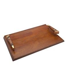 Godinger Zephyr Rectangle Wooden Tray - Bloomingdale's_0