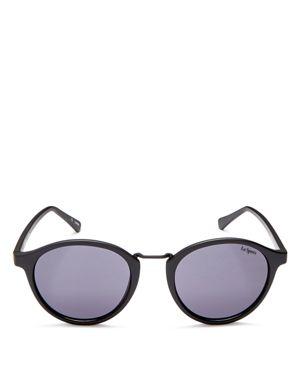 Le Specs Women's Paradox Round Sunglasses, 49mm