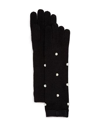 kate spade new york - Embellished Merino Wool Gloves