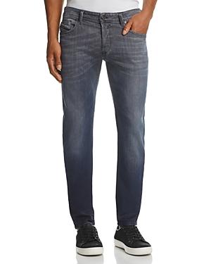 Diesel Sleenker Super Slim Fit Jeans in Dark Gray