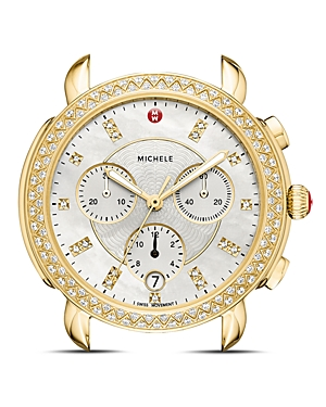 Michele Sidney Watch Head, 38mm