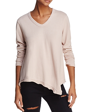 Wilt Asymmetric Long-Sleeve Tee