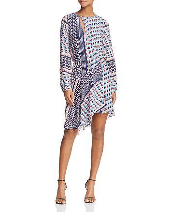 Parker - Noella Geo-Print Silk Dress