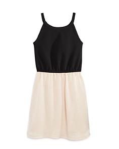 AQUA Girls' Color-Block Tank Dress, Big Kid - 100% Exclusive - Bloomingdale's_0