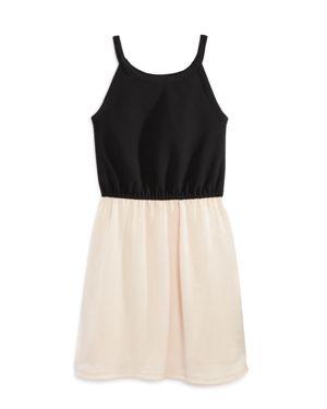 Aqua Girls' Color-Block Tank Dress, Big Kid - 100% Exclusive