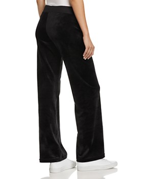 Juicy Couture Black Label - Mar Vista Luxe Velour Flared Pants