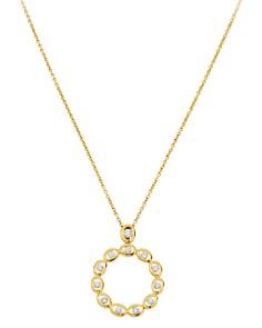 "Gumuchian 18K Yellow Gold Diamond Oasis Circle Pendant Necklace, 18"" - Bloomingdale's_0"