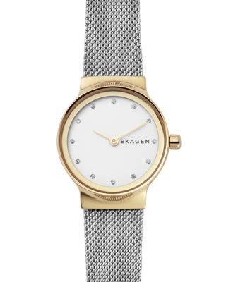Women'S Freja Stainless Steel Bracelet Watch 26Mm in Silver