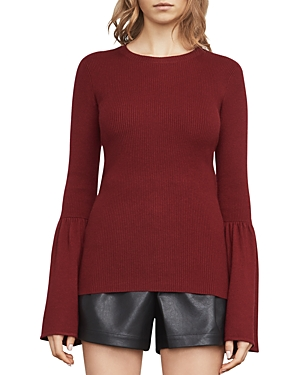 Bcbgmaxazria Waverley Flared-Sleeve Sweater