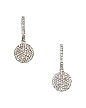 kate spade new york Pave Drop Earrings