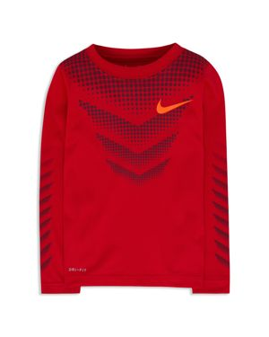 Nike Boys' Dotted Performance Tee - Little Kid thumbnail