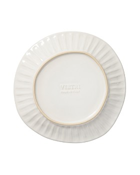 VIETRI - Incanto Stone White Stripe Salad Plate