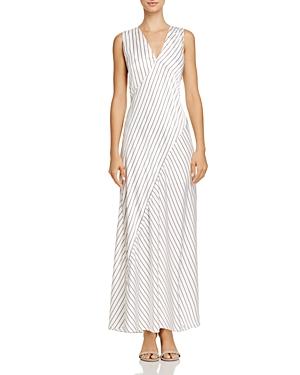 Theory Striped Slip Dress