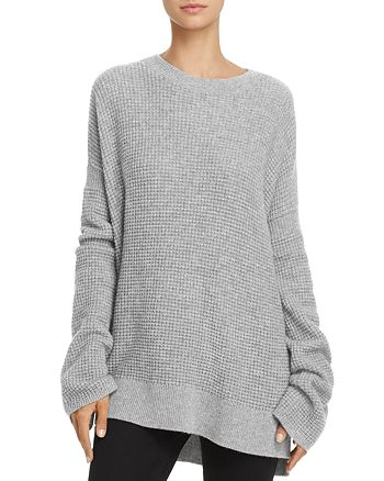 Theory - Bicep Bell-Sleeve Thermal Cashmere Sweater
