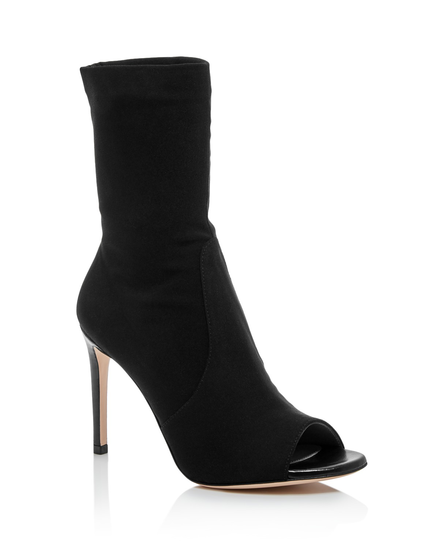 amazon cheap purchase Stuart Weitzman Hugger open toe boots ty8MFHJ