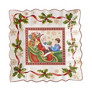Villeroy & Boch Toy's Fantasy Square Bowl, Santa Claus