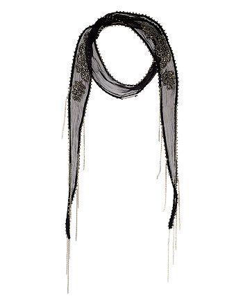 Chan Luu - Skinny Fringed Scarf