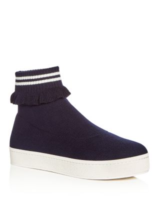 Women'S High Top Sneakers in Collegiate Navy