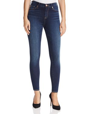 True Religion Halle High-Rise Jeans in Bonafide Blue 2757260