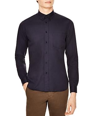 Sandro Supra Dark Slim Fit Button-Down Shirt