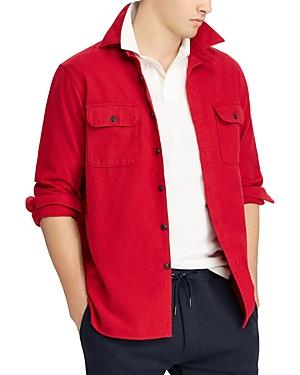 Polo Ralph Lauren Flannel Classic Fit Button-Down Work Shirt
