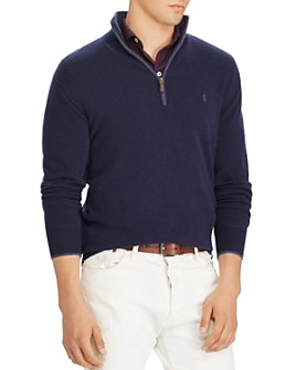 Polo Ralph Lauren - Washable Cashmere Half-Zip Sweater - 100% Exclusive