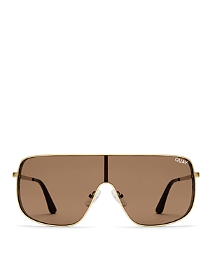 Quay #Quayxkylie Unbothered Square Shield Sunglasses, 58mm