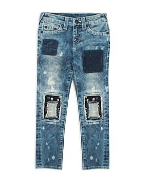 True Religion Boys Distressed  Bleached Skinny Jeans  Big Kid