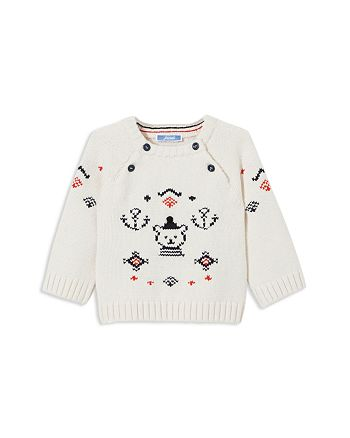 Jacadi - Boys' Intarsia Nautical Bear Sweater - Baby