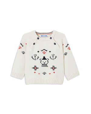 Jacadi Boys' Intarsia Nautical Bear Sweater - Baby