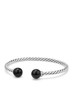David Yurman - Solari Bracelet with Diamonds & Black Onyx