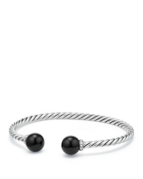 David Yurman - Solari Bracelet with Diamonds & Black Onyx